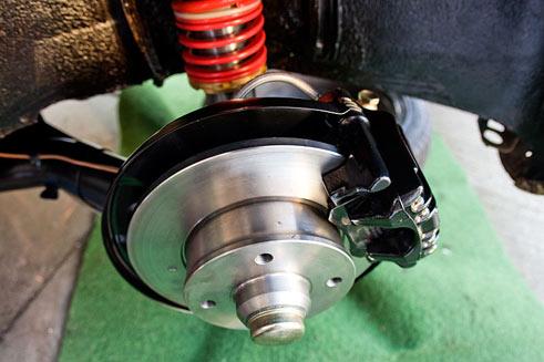 MK1 golf rear mk4 disc brakes